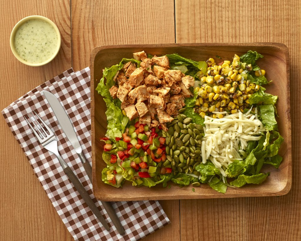Greens and Grains Southwestern Chicken Salad